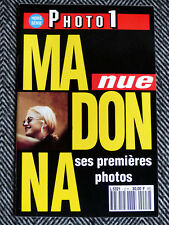 MADONNA - Madonna nue, ses premières photos