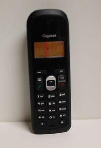 Siemens Gigaset AS200 AS200H AS 200 ersatz Mobilteil mit Akkufachdeckel