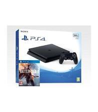 Consola Sony PS4 500GB negra Slim