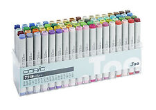 Copic Classic Marker - 72C Set - 72 Unique Colours - Refillable With Copic Inks