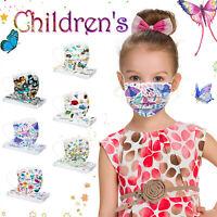 50pc 😷Kinder Mund Nasen Maske Gesichtsmaske Gesichtsschutz