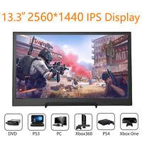 "13.3"" IPS Monitor 2560*1440 16:9 Speaker 4 Raspberry Pi 3 PS3 PS4 Xbox 360 Mac"