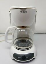 Mr. Coffee  Simple Brew  12 cups White  Coffee Maker Ships Now