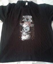 Mastodon Band Totem Logo Black Shirt X LARGE , RARE, ONE SIDED, 100%COTTON
