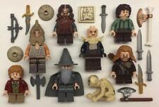 8 Lego il Signore Degli Anelli Minifigs Lotto: Personaggi Hobbit Lotr Frodo