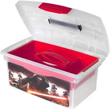 Star Wars Storage Box with Lift Out Compartment White / Red