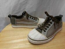 """Sorel Men's """"Sentry Sneaker CVS"""" NM1670-023 White/Grey Shoes Size 9.5"""