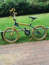 BMX Old school 20er bleu jaune no GT HARO MONGOOSE Redline Vélo