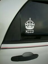 Genuine Keep Calm and Chive On Decal from The Chive KCCO stickers car Crown