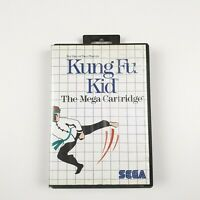 Kungfu Kid | Sega Master System | Complete with manual | PAL | Exrental