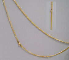 Neuware 333 echt Goldkette Kinder Damen im Panzer Design 8 Karat Gold Kette 40cm