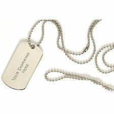 Engraved-metal-military-army-dog-tags-id-tag - & - necklace-engraved REGALO