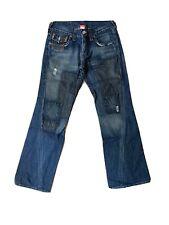 True Religion Mens Patch Jeans