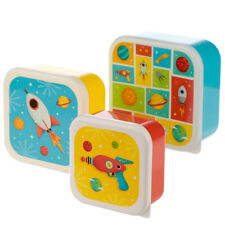 3 Toddler Snack Food Keepers Space - Pods Container Lunch Baby Kids Boxes Tubs