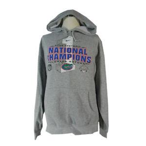 University of Florida Gators sweatshirt adult 2 XL XXL Grey Nike football champi