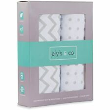 Changing Pad Cover Set, Cradle Sheet 2 Pack 100% Jersey Cotton Unisex Sheets For
