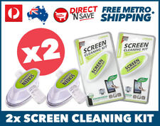 2x Screen Cleaner Kit Laptop Computer TV Camera Anti Static Microfiber Cloth