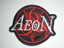 AEON DEATH METAL EMBROIDERED PATCH