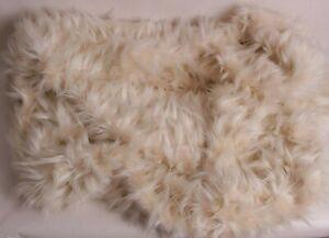 Pottery Barn PB Teen Leanback Lounger slip cover, faux fur llama *photo sample