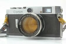 EXC+5 Canon P Rangefinder 35mm Film camera w/ 50mm f1.4 Lens L39 From JAPAN F220
