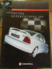 Vauxhall Vectra Supertouring 200 brochure Apr 1997