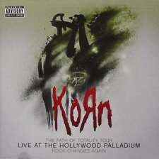 New: KORN - Live At The Hollywood Palladium CD+ DVD!