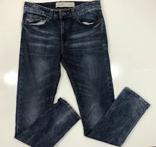 New Look Mens Denim Skinny Jeans Sz 32 Reg