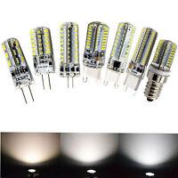 10 20 30x DIMMABLE 3W/5W/7W/9W G4/G9/E14 LED Capsule COB SMD LIGHT BULB 12V 220V