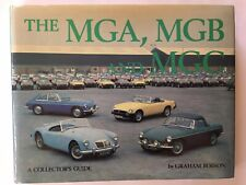 MGA, MGB, MGC BOOK BY GRAHAM ROBSON, 1978 EDITION