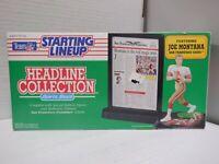 Starting Lineup Headline Collection Featuring Joe Montana 020521MGL