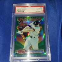 1993 TOPPS FINEST REFRACTOR WADE BOGGS #90 PSA 10 GEM MINT YANKEES RED SOX HOF