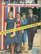 ►Cinemonde 1248 (1958) JEAN CLAUDE PASCAL_ANNIE GIRARDOT_ DANY CARREL_D.ROCCA