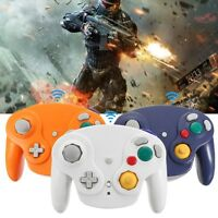 2.4G Wireless Controller Game Gamepad + Receiver For Nintendo Gamecube NGC Wii