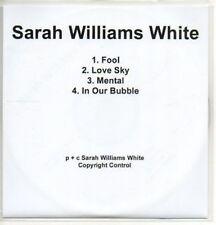 (AC571) Sarah Williams White, Fool - DJ CD