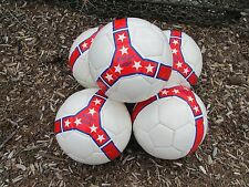 BULK...(5 NEW BALLS) SIZE 5 SOFT FEEL for YOUNGER AGES SOCCER TRAINING  BALL