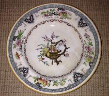 """Antique Minton 8"""" Soup Bowl, Impressed Mark 1870-1890 Apple Blossoms"""