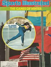 SPEED SKATING SHEILA YOUNG 1976 SPORTS ILLUSTRATED OLYMPIC GOLD 3X WORLD CHAMP
