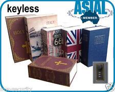 Combination Digit Keyless Lock Metal Book safe box Holy Bible dictionary