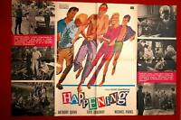 HAPPENING 1SHT FAYE DUNAWAY 1965 ANTHONY QUINN RARE EXYU MOVIE POSTER
