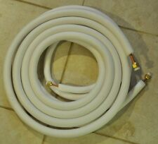 "25ft insulated COPPER PIPES  1/4"" and 3/8"" for split air conditioner"