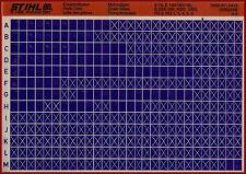 Stihl Ersatzteillisten_Partslist_Motorsägen_Microfich_Fich_4/98_E_HOS_USG_FG_NG