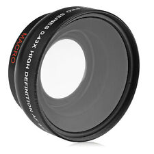 Opteka 58mm 0.43X HD Super Wide Angle Lens with Macro For Canon EOS DSLR Cameras