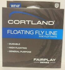 New in Box Cortland 84' Fairplay Series WF4F Durable High Floating Fly Line