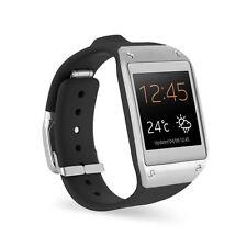 Samsung Galaxy Gear V700 SM-V700 mit Ladegerät Jet Black Schwarz Smartwatch Uhr