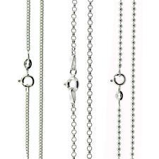 Sterling Silver 925 Italian Anklet Bracelet Choker Necklace Body Chain Jewelry
