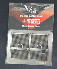 RC 1/24 VS Tank Tiger I Photo Etched Mesh Grille Parts Pro Model Kit A02107307