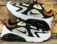 Nike Air Max 200 Men's Rasta World Stage White Black Red Green  Sz 11.5 AQ2568
