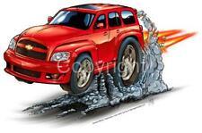 Cartoon Replica HHR SS Tshirts 9252 retro auto art