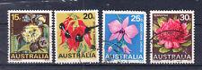 Briefmarken Australien 1968 Blumen Mi.Nr.400-03