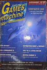 rivista videogiochi the games machine n. 80 novembre 1995